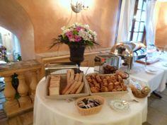 """Prima colazione, Ristorante di """"Hotel Le Saint Paul"""", Saint-Paul de Vence, France (Marzo)"""