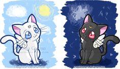 Artemis and Luna! :3
