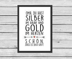 ★+Poster+★+Oma+/+Opa+★+Geschenk+★+von+Kitsch'n'Story+auf+DaWanda.com