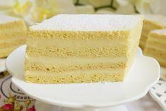 Prăjitura Albă ca zăpada - rețeta clasică - Rețete pentru toate gusturile Cake Recipes, Dessert Recipes, Easy Desserts, Vanilla Cake, Nutella, Deserts, Good Food, Sweets, Sugar