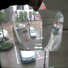 Wide #angle lens #parking #reversing aid blind spot rear view back window car van,  View more on the LINK: http://www.zeppy.io/product/gb/2/261369276770/