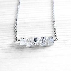 Rutilated Quartz Necklace from Urban Aviary/Samantha Bird - responsibly gorgeous!!
