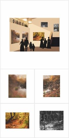 This collection features our At the Gallery canvas and the five original artworks on canvas that are displayed on the gallery walls. These pieces are available at our Zazzle store, The MarBeth Gallery. Original Artwork, Gallery Wall, Polaroid Film, Collection, Design, Design Comics