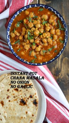 Instant Pot Chana Masala No Onion No Garlic / Jain Chole Masala is incredibly easy with the same authentic taste. Generally, it takes longer to make Chole traditionally. But with Instant Pot, it becomes a very straightforward and one-pot recipe. This recipe is very convenient, delicious, protein-packed, and perfect as a comfort, wholesome meal. Jain Recipes, Indian Food Recipes, Indian Foods, Ethnic Recipes, Fodmap Recipes, Healthy Recipes, Healthy Food, Garlic Recipes, Chicken Recipes