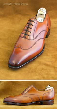 .Oh, my sole. Connaught - Vintage Chestnut Shoe  #Aim2Win