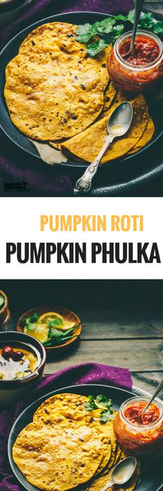 How to PUMPKIN PHULKA or PUMPKIN ROTI at home? These Pumpkin Phulka's are a great way to incorporate Pumpkin in your family's diet.  Serve them with Gravy Veg Curry, pickle and yogurt to complete the meal.