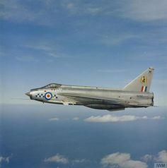 English Electric Lightning F2a 19 Sqn RAF 1960