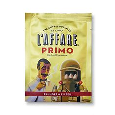 Primo is our signature blend of the best coffees from Africa, Central and South America, expertly crafted after 26 years of being sold in cafés throughout New Zealand, including our very own. It's full-bodied, big and complex and is guity of kick-starting Wellington's coffee culture. Expect notes of rich molasses, plum with a shortbread finish. Suits all brewing methods. The sachets come in 30g sizes, enough coffee to brew 500ml or two cups of coffee. Great for your home and office.