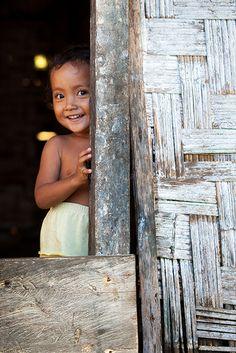 Smile, Katupat Village, Indonesia