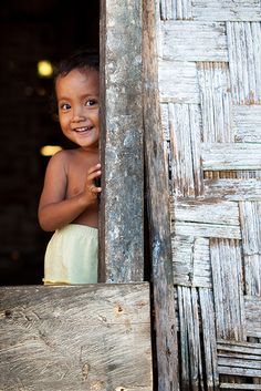 Smile, Katupat Village, Indonesia