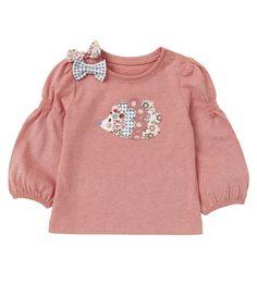 Mothercare Long Sleeved Hedgehog T-Shirt