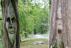 9 Amazing Places With Tree Carvings and Sculptures | Art - BabaMail