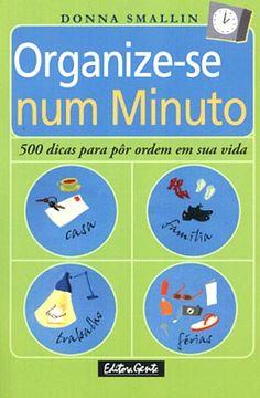 Livros sobre organização que eu uso e recomendo – Vida Organizada