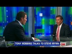 "Steve Wynn tells Tony Robbins, ""Anything that increases someone's self-esteem is much more powerful than money."""