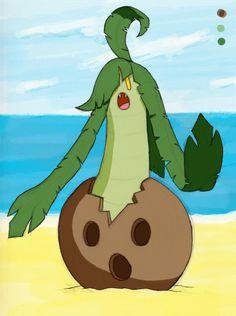 Gourgeist Alola form by Pumpkinoid.deviantart.com on @DeviantArt