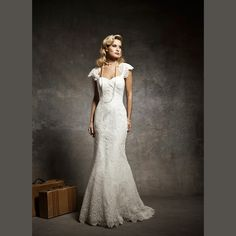Fashionably Yours - Elly Lace Wedding Dress, $599.95 (http://fashionably-yours.com.au/elly-lace-wedding-dress/)