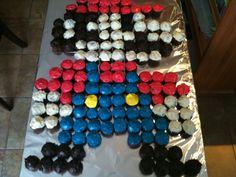 Super Mario Party - Mario Cupcakes