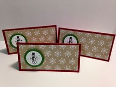 Holiday Home stamp set, Gift Tags, Stampin' Up!, Rubber Stamping Handmade Tags