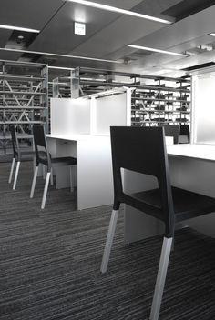 Meiji University Nakano Campus, Tokyo (J) - The Face chair designed by Luca Nichetto for Kristalia  http://www.kristalia.it/eng/residential/prodotti.php?area=sedute=97 #lucanichetto #designchair #office