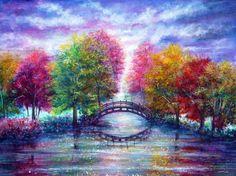 Eine Brücke zu überqueren