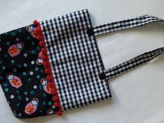 Sacola infantil de tecido R$25,00