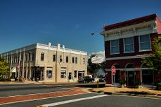 Lyons GA Downtown Early 20th Century Commercial Architecture Hotel Bank Pictures Photo Copyright Brian Brown Vanishing South Georgia USA 201...