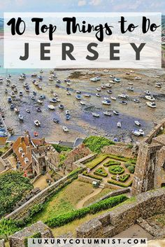 10 Top Things to Do in Jersey Channel Islands including Mont Orgueil Castle Samares Manor and the Jersey War Tunnels Tenerife, Uk And Ie Destinations, Holiday Destinations, Ocean Restaurant, Amsterdam, Jersey Channel Islands, Stuff To Do, Things To Do, The Perfect Getaway