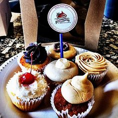 Photo I took of some of the goodies I enjoyed from Sugar Mama's Bakeshop in Austin, TX