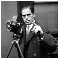 "Frank Capra // ""Friend, you are a divine mingle-mangle of guts and stardust. So hang in there! If doors opened for me, they can open for anyone."""