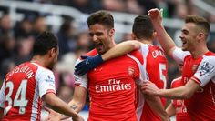 Newcastle United Arsenal: Giroud scores twice as Gunners win again Francis Coquelin, Calum Chambers, French Man, St James' Park, Arsenal Fc, Arsenal Liverpool, North London, Manchester City, Cristiano Ronaldo