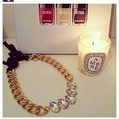 Beautiful picture of The Audrey necklace taken by @stylebazaar #ellandemm  Thanks!!! - @jenn5716- #webstagram