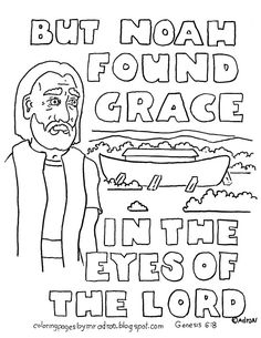 coloring pages for kids by mr adron noah and the ark scripture coloring page - Bible Coloring Pages Kids Noah