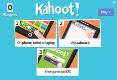 Create online quizzes for any device with Kahoot!  Kahoot is a new quiz and survey creation tool that will work on any device. It allows teachers to set up and run multiple choice quizzes which their students can then answer via any device that has a web browser.