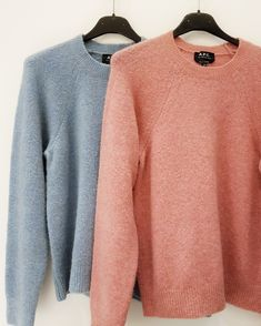 Pastel #sweater from #APC #paris in #pastel #rose and #lightblue @#redbytheapartmentstore #badenerstrasse 75 #red #secondseason #outlet #sale #singlepieces #reduced #lowprice #wheresaleneverends #theapartmentstore #apartment #apartmentstore #zurich #fashion #zurichfashion Apc, Zurich, Light Blue, Men Sweater, Pastel, Pullover, Paris, Store, Sweaters