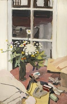 Fairfield Porter, Still Life with Stapler, 1970. Oil on masonite, 24 x 16 inches.