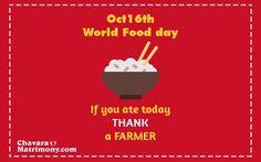 #WorldFoodDay #FoodDay #Food