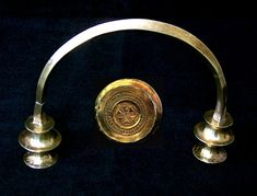 Bronze Age gold torc from Lebução, Valpaços, northern Portugal. Currently on display at Museu Sociedade Martins Sarmento/ Martins Sarmento Society Museum, in Guimarães, northern Portugal. http://www.csarmento.uminho.pt/nephl_311.asp