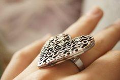 Big rings.<3