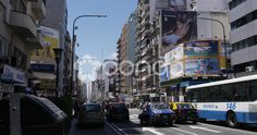 Street Corrientes in Buenos Aires - Stock Footage   by buclefilm
