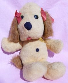 Henrietta Animal Fair Vintage Stuffed Dog by MixyMitzy on Etsy