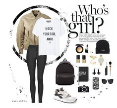 """Rock your soul away!"" by nolanova2fashion ❤ liked on Polyvore featuring adidas Originals, Topshop, NIKE, NARS Cosmetics, MAC Cosmetics, Kate Spade, Bling Jewelry, Sole Society, Chicnova Fashion and Hervé Léger"