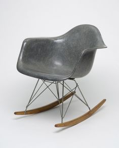 "Happy birthday to Charles Eames, who formed one of midcentury America's best-known design duos with his wife, Ray. Their designs for furniture and graphics and their innovative films have become icons of twentieth-century design. ""Rocking Chair (RAR..."