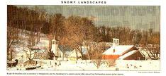 Hedgesville, West Virginia, Hedgesville snow scape. West Virginia