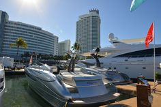 Riva #Yacht on display at the #MiamiBoatShow 2015, 12-16 Feb 2015. #luxury #ferretti #yacht #MadeInItaly #Mybs2015