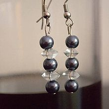 Maja Nikelova - MajaNikelova Šperky Náušnice / SAShE.sk Pearl Earrings, Drop Earrings, Pearls, Handmade, Jewelry, Jewellery Making, Bead Earrings, Beads, Jewelery