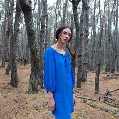 SALE! Alice dress in ocean blue was $329 now $99
