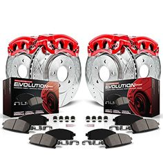 For Nissan Altima 13-18 Brake Pads Z23 Evolution Sport Performance Carbon-Fiber