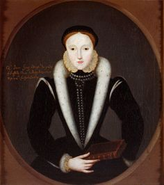 """The Portrait of Lady Jane Grey Lady Jane Grey by unknown artist. In the Collection of the Duke of Northumberland, Syon House, Middlesex, UK    (This site has a really interesting article on how they have come to the conclusion that this is indeed a portrait of the famous """"Nine Days Queen"""".)"""