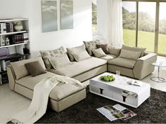 modern latest design living room fabric solid wood sofa - from Alibaba.com