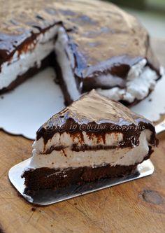 Cheesecake nutella e panna Dessert Cake Recipes, My Dessert, No Cook Desserts, Cheesecakes, Kolaci I Torte, Bulgarian Recipes, Food Obsession, Sweet Pastries, Pastry Cake